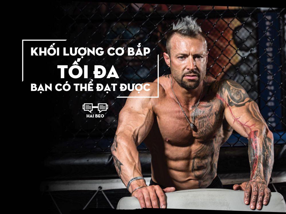 khối lượng cơ bắp tối đa