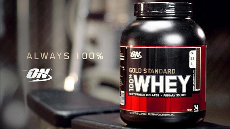 Sản phẩm nổi tiếng nhất i là ON Gold Standard 100% Whey