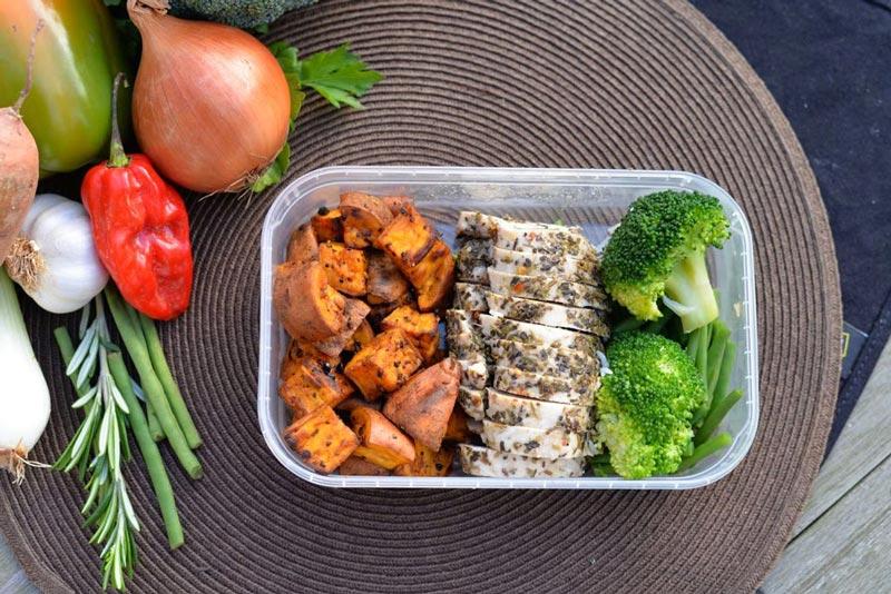 bữa-ăn-của-gymer-đầy-đủ-chất-dinh-dưỡng