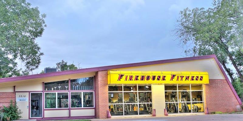 Firehouse Fitness nằm trong một trạm cứu hỏa đã được tu chỉnh lại