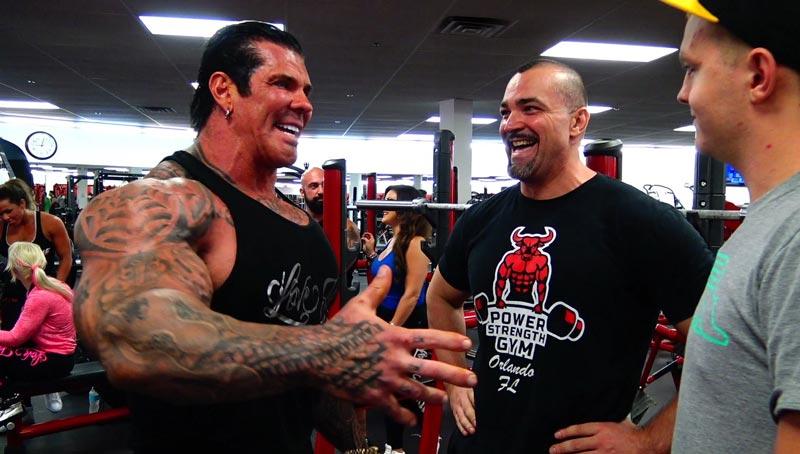 Iron Religion Gym thu hút rất nhiều vận động viên thể hình chuyên nghiệp