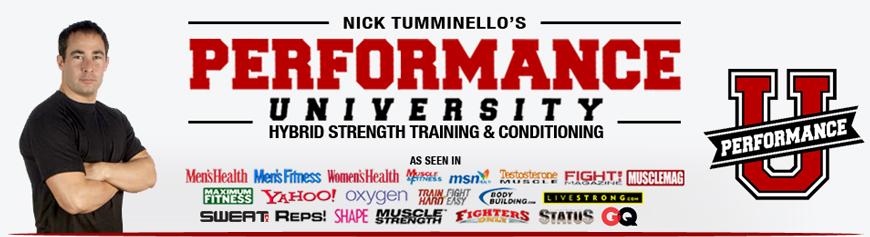 Nick Tumminello- Nhà sáng lập trung tâm đào tạo Performance U