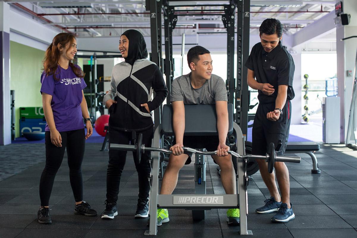 Anytime Fitness xác định mình là 'bạn bè' của khách hàng