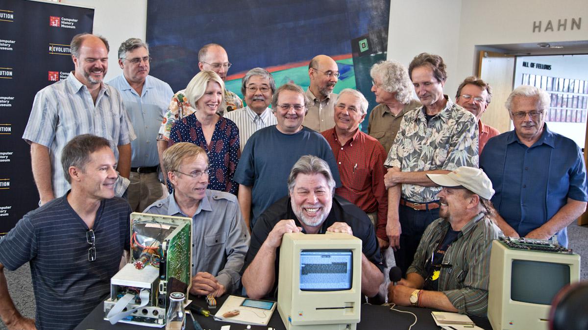 Bạn đã bao giờ gặp một nhóm Macintosh chưa?