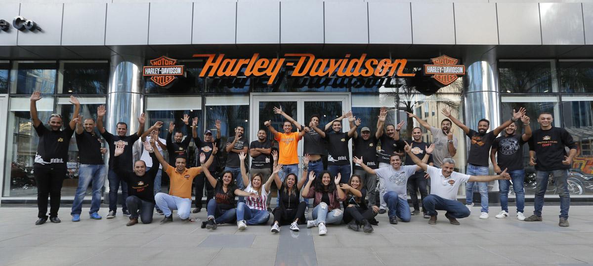 Harley Davision team