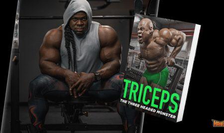 Triceps: The Three Headed Monster – Chương trình tập tay sau Kai Greene