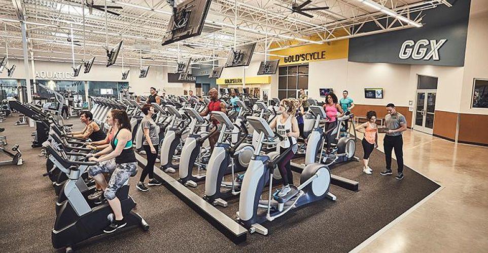 Phòng tập gym ở địa phương
