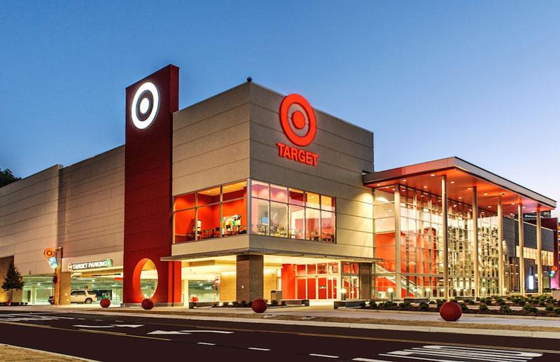 Bạn có thể tìm thấy một của hàng Target giống hệt ở quê nhà